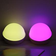 Милый силиконовый перламутровый ночник usb переключатель света