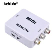 HD Video Converter Box HDMI-kompatibel zu RCA AV/CVSB Video 1080P Unterstützung NTSC PAL Ausgang HDMI ZU AV Scaler Schalter Adapter