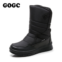 GOGC Warm Men Winter Shoes Brand Non Slip Winter Shoes For Men High Quality Winter Boots