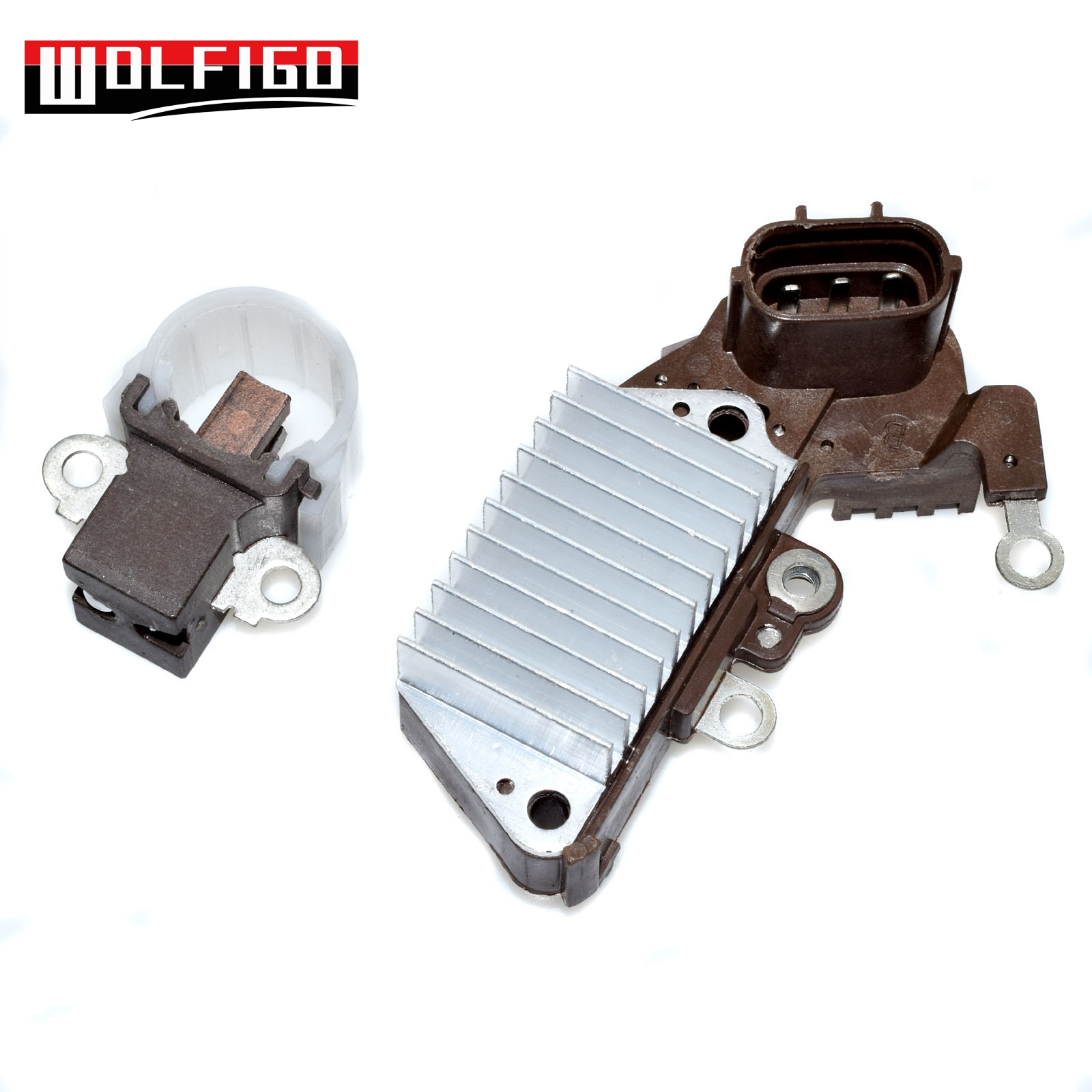 WOLFIGO Voltage Regulator BRUSH HOLDER for <font><b>TOYOTA</b></font> <font><b>CAMRY</b></font> <font><b>2.2L</b></font> 70A CELICA <font><b>2.2L</b></font> 70A MR2 1260001580 NEW image