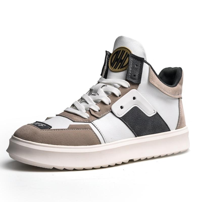 Black Hommes Marche Homme Casual Deux Classique Non slip Appartements Gray Couleurs Chaussures Sneakers Haute Blue 921 921 Respirant beige Chaussure top Mode Yb76ygf