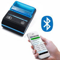 New Label Barcode Printer Thermal Receipt Printer Bar Code Printer 20mm 50mm With Auto Stipping Bluetooth/USB