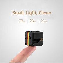 SQ11 Full HD 1080 P мини Камера Cam Ночное видение спорт видео звук голоса Регистраторы Невидимый няня Secret Цифровой Шлем Пинхол