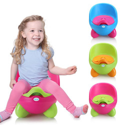 Brand New Kids Suitable Potties Cute Candy Color Baby Girl&Boy Plastic Toilets 6M-3Years Big Size Infant Potty Wholesale Free
