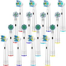 цены на 16 PCS Toothbrush Heads for Oral B Toothbrush Heads Replacement for Fit Vitality Dual Clean/Professional Care SmartSeries  в интернет-магазинах