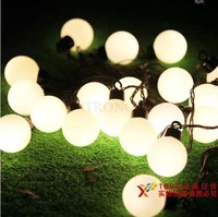 5m LED Light String 32 Ball 8 Colors Black Wire LED Party Holiday CHRISTMAS WEDDING Decoration