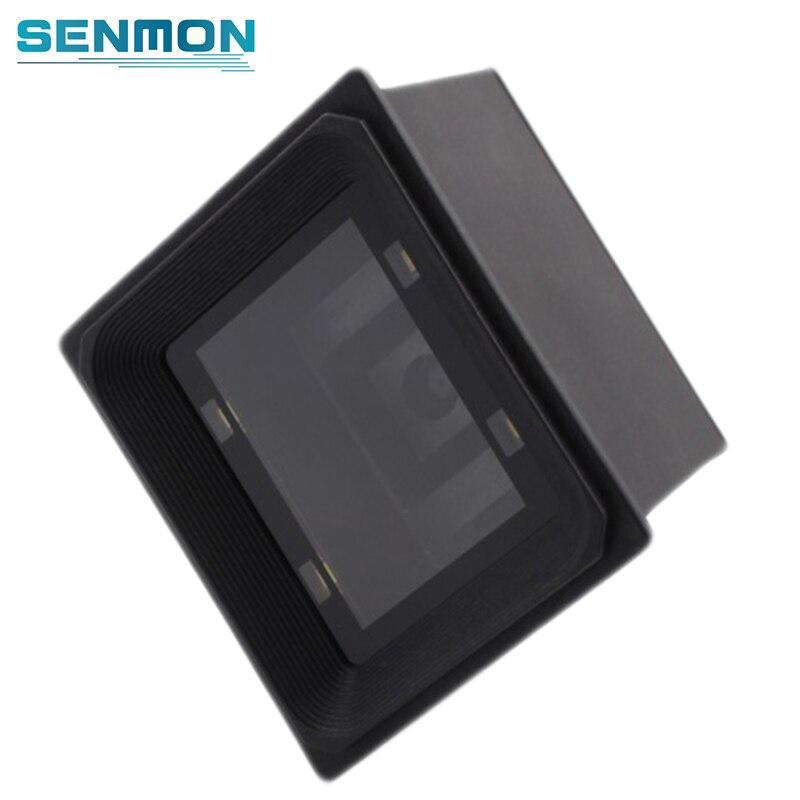 1D/2D Omni directional USB Bar code Scanner Pritsche RS232 Barcode Scanner Reader Qr Code Scanner für Supermarkt