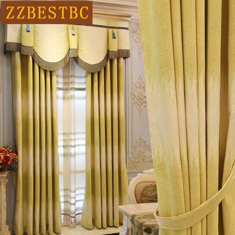 Luxul european îngroșat draperii de înaltă calitate, de înaltă - Textile de uz casnic