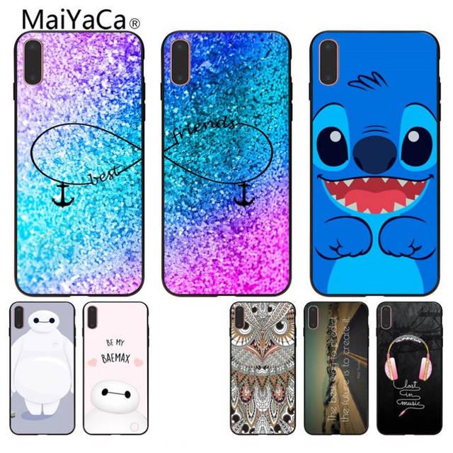 best service bf429 e39e4 Online Shop MaiYaCa Princess Best friends Coque Shell Phone Case For ...
