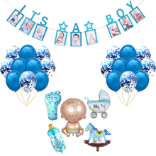 Gender Reveal Its A Boy Or Girl Baby Shower Boy Party Decorations Kids Oh Baby Birthday Balloons Party Package Combination baby shower boy girl decorations set it s a boy it s a girl oh baby balloons gender reveal kids birthday party baby shower gifts