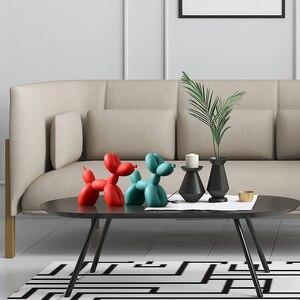 Image 5 - Ballon créatif nordique pour chien, décoration de la maison pour chien, décoration du meuble TV, pour le salon, la chambre à coucher, mignon animaux en résine, idéal pour décorations de bureau, cadeau