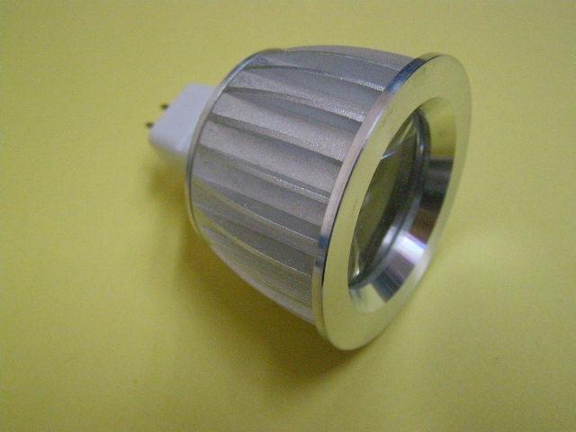 MR11 1*1W led spot light;with DC12V input;size:Dia50*H43mm