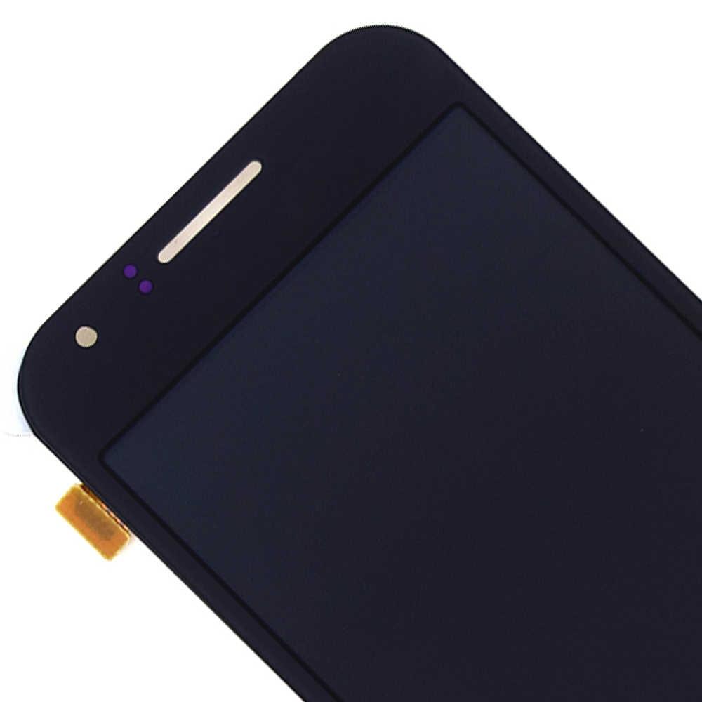 สำหรับ Samsung Galaxy J1 J100F J100H J100 SM-J100F หน้าจอสัมผัส Digitizer เซ็นเซอร์กระจก + LCD Assembly