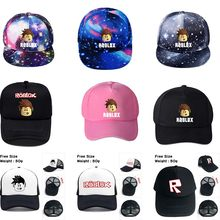 8bcfd04ebbdc1 13 Styles Game Roblox Caps Cartoon Kids Summer Sun Baseball Caps Hat Hip  Hop Hats Boy