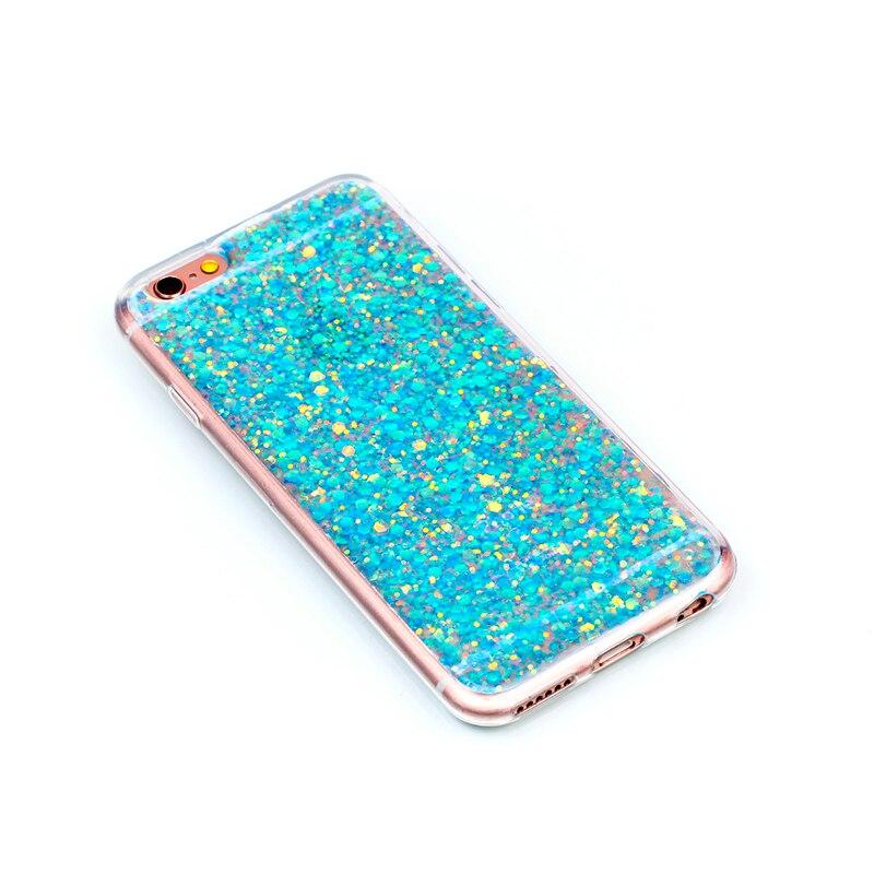 Glitter Bling Couverture Pour iphone 5S funda Bonbons Colorés Brillant Cas pour l'iphone 5 coque etui kryt pour iphone se skal tok husa