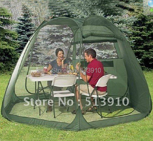ФОТО 5-10PERSONS LARGE ROOM PARTY TENT/POP UP GARDEN TENT