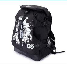 Adult Roller Skate Shoes Backpack Double-Shoulder Bag Outdoor Sports Bags Travel Hiking Camping Backpacks Size Medium & Big