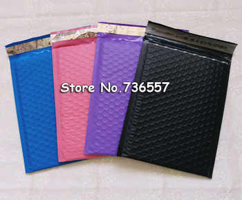[50pcs] Pink Black White Purple Blue 6.5X9inch 165X229MM Usable Poly bubble Mailer envelopes padded Mailing Bag Self Sealing - DISCOUNT ITEM  28% OFF All Category