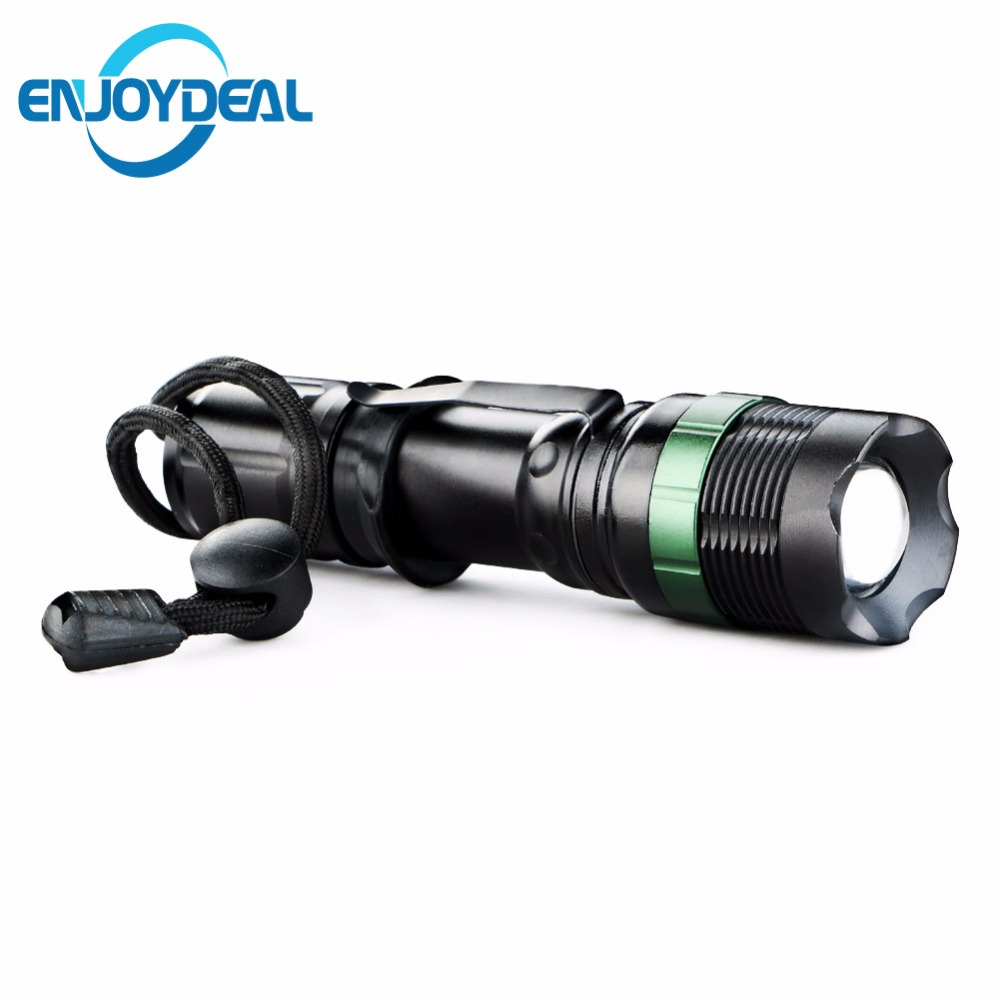 CREE Q5 LED Flashlight 3 Modes 2000 Lumens Adjustable ...