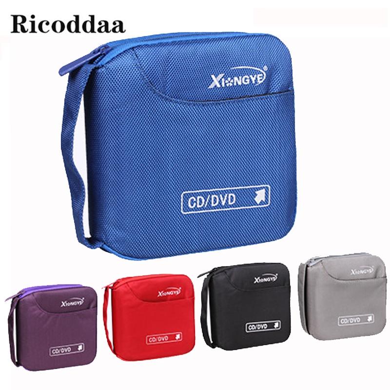 40 PCS Disc CD DVD Holder Case Storage Carry Case Organizer Sleeve Wallet Cover Bag Box CD DVD Holder Storage Cover