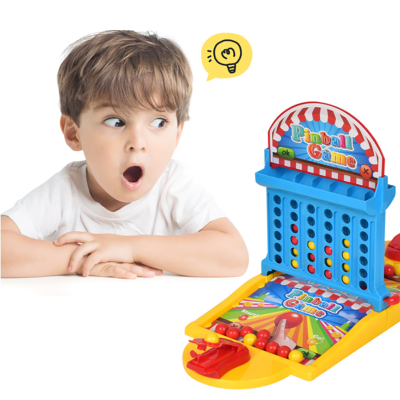 Hoodle Connect Four Two-In-One Desktop Parent-child Interactive Shooting Table Game Console Children's Educational Toys