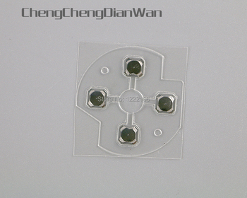 ChengChengDianWan High Quality For XBOX ONE Xboxone Controller D Pads D-Pad Metal Dome Snap PCB board buttons Conductive fIlm