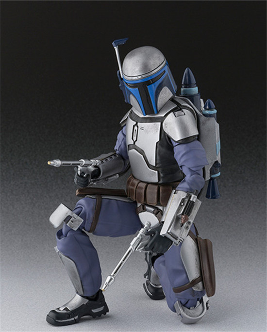 Star Wars Bounty Hunter Jango Fett PVC Action Figure Collectible Model Toys