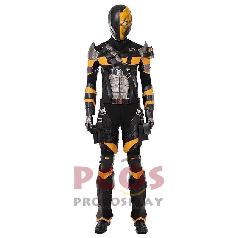 Deathstroke Mask Slade Wilson Arrow TV Arkum Origins Comic Fancy Party
