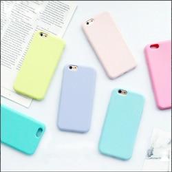 Capa para iphone 7 tpu macio silicone fosco para iphone 7 8 plus x caso multi cor capa à moda para iphone xs max