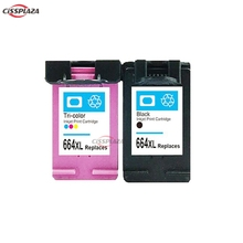 CISSPLAZA 2x compatible for hp664 664XL ink cartridges for Deskjet 1115 1118 2135 2138 3635 3636 3638 3838 4538 4678