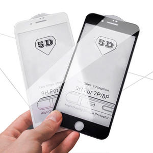 GVU Screen-Protector Tempered-Glass Full-Cover iPhone 8 6S 6 6s-X-Glass-Film 5D for 7