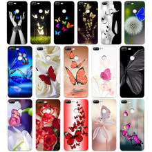 231WE Red butterfly on white roses Soft Silicone Tpu Cover phone Case for huawei Honor 8 9 10 Lite 8X p 8 9 lite 2017(China)