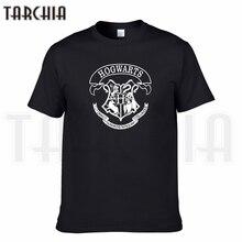 TARCHIA 2017 summer brand Harry Potter hogwarts t-shirt cotton tops tees men short sleeve boy casual homme tshirt t plus fashion(China (Mainland))