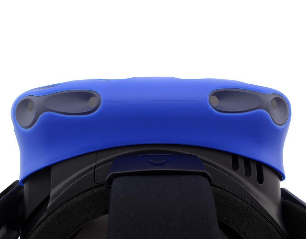 Soft touch Silicone Protective Cover For HTC VIVE PRO Headset Skin VR Helmet Controller Handle Case Shell VIRTUAL REALITY in 3D Glasses Virtual Reality Glasses from Consumer Electronics