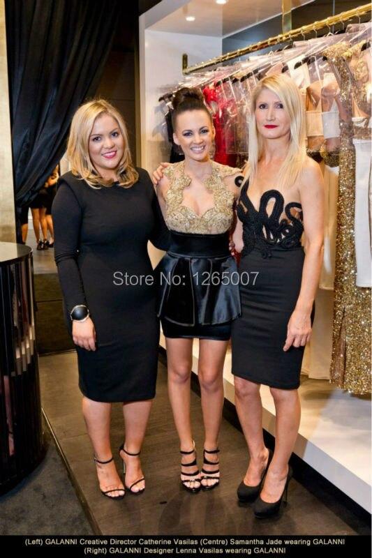 Celeb boutique black jade dress