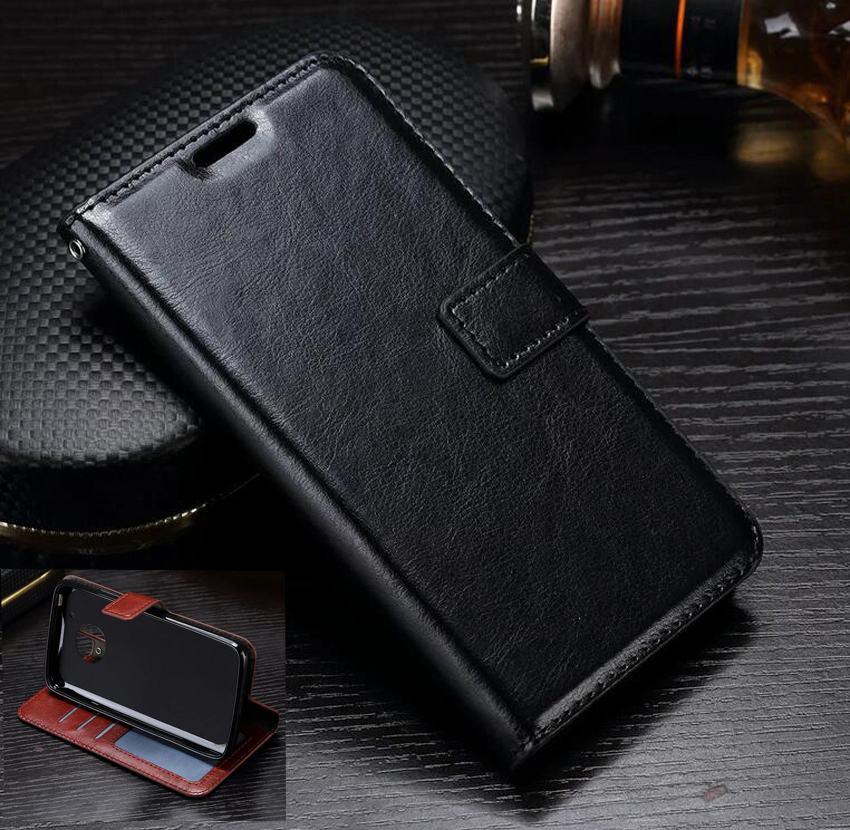 Dreamysow Wallet Leather Phone Case With Card Holder For Motorola Xplay E4Plus for Moto G5 X3 G3 X play G4 E Z C G5s G6 E4 plus
