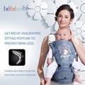 Bebear new hipseat for prevent o-type legs lovely unicorn 6 in 1 Ergonomic baby carriers backpacks manduca save effort kid sling