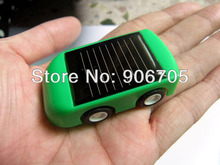 Plastic DIY Solar car kit for kids,solar power toys Children's educational toys with red,blue and green 3 colours mixed