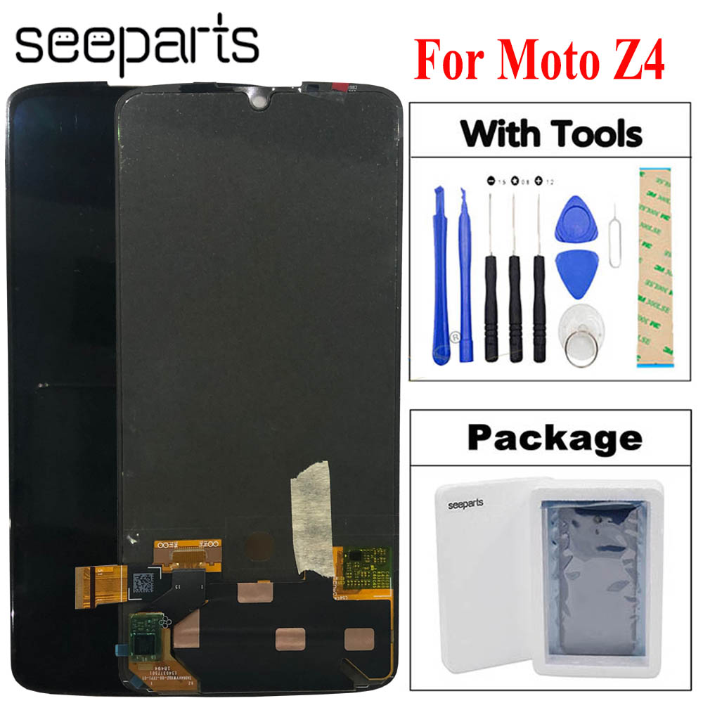 100% Tested Working For Motorola Moto Z4 LCD Display Touch Screen Digitizer Assembly Replacement Screen For Moto Z4 LCD Display100% Tested Working For Motorola Moto Z4 LCD Display Touch Screen Digitizer Assembly Replacement Screen For Moto Z4 LCD Display
