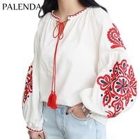 Palenda Cotton Blouse Soft Fabric Boho