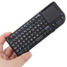 Original 2,4G Mini Handheld Wireless Tastatur maus USB Touchpad mäuse anzahl Tastaturen für Samsung LG Android Smart TV PC laptop