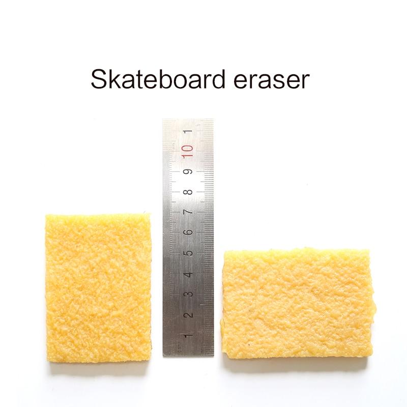 Купить с кэшбэком Skateboard griptape sandpaper clean eraser Longboard sand paper cleaner dirt remover skatboard eraser for Griptapes