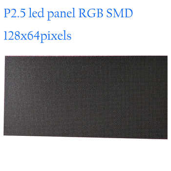 High resolution 128x64 dots P2.5 indoor led display module 320x160mm RGB smd led TV panel interior advertising led screen - DISCOUNT ITEM  0% OFF All Category