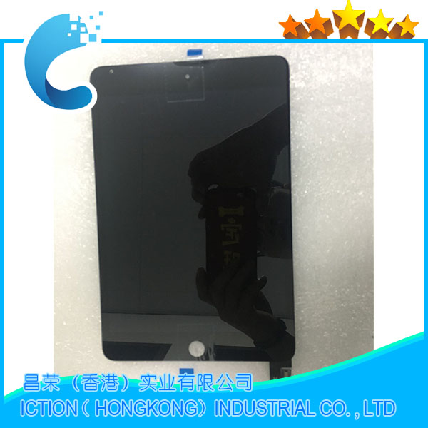 Black New LCD Display Touch Screen Assembly Replacement For iPad Mini 4 A1538 A1550 LCD Digitzer Panel EMC 2815 EMC 2824 grassroot new 100% tested good quality lcd touch screen for ipad mini4 a1538 a1550 lcd display touch screen replacement assembly