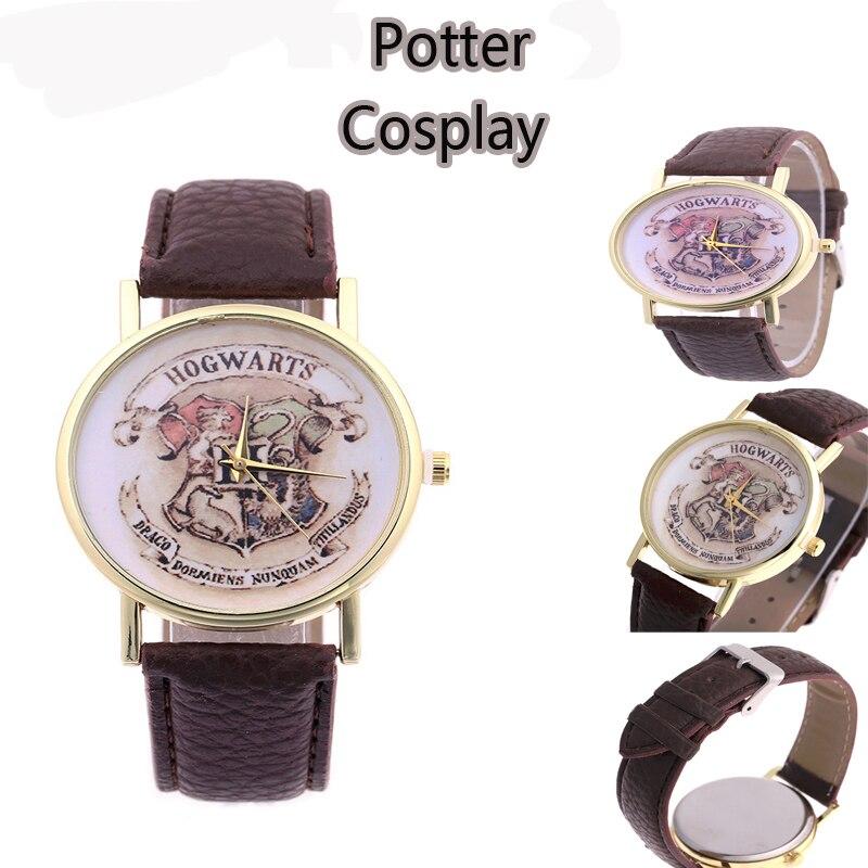 Película caliente Harri Potter Cosplay reloj modelo juguetes Cartoon Harri Potter niños reloj del partido juego juguetes Brinquedos regalo de cumpleaños