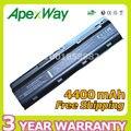 Apexway 6 клеток аккумулятор для ноутбука HP pavilion G6 DM4 DV3 DV5 G6 DV6 DV7 G32 G42 G56 G62 G72 HSTNN-UB0W MU06 MU09 HSTNN-CBOW