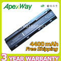 Apexway 6 cells laptop battery for HP pavilion G6 DM4 DV3 DV5 DV6  DV7 G32 G42 G6 G56 G62 G72 MU06 MU09 HSTNN-UB0W HSTNN-CBOW