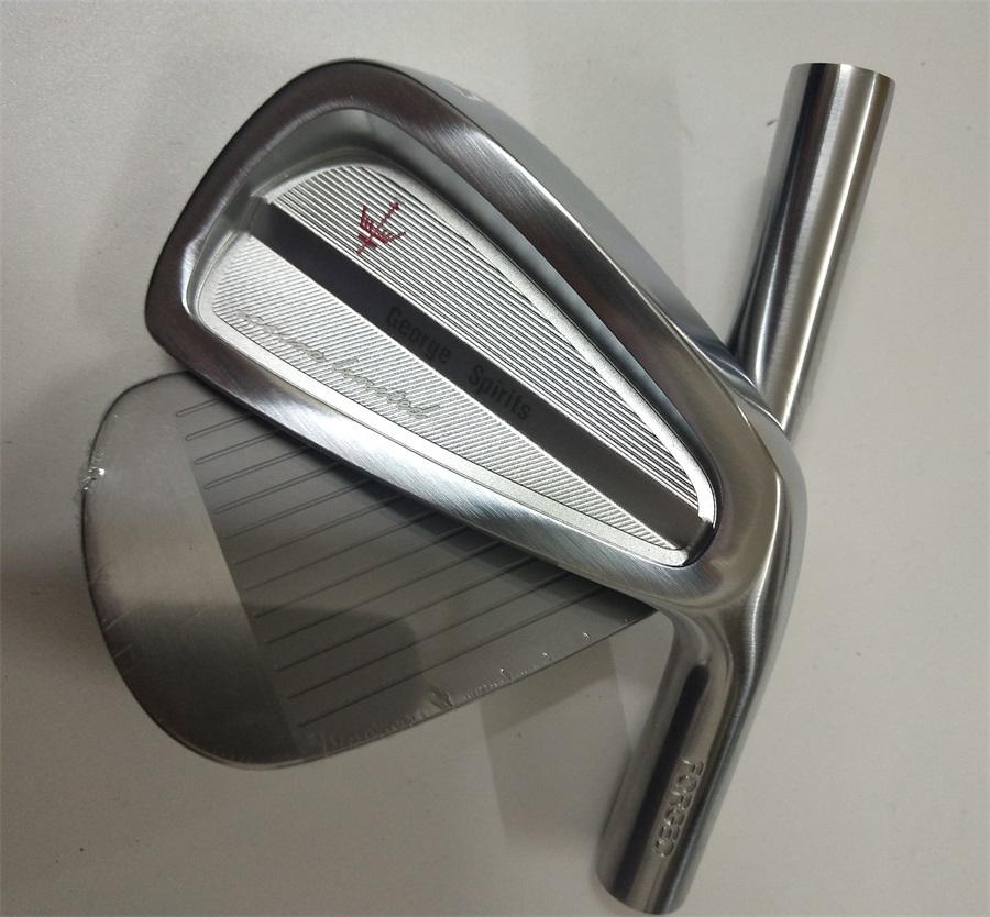 2019 George Spirits  Sakura Limited  Satin Finished Silver  Forged   Golf Iron Head  Black  Silver  Driver  Wood  Iron   Putter