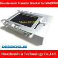 DEBROGLIE   High Quality  2.5 inch to 3.5 inch Double-desk Transfer Bracket for MACPRO  with 8pcs Screw  SUPPORT 2PCS SSD/HDD