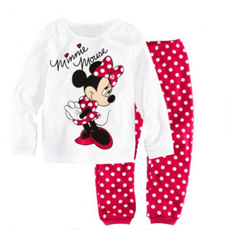 Girl pajamas sets (4)